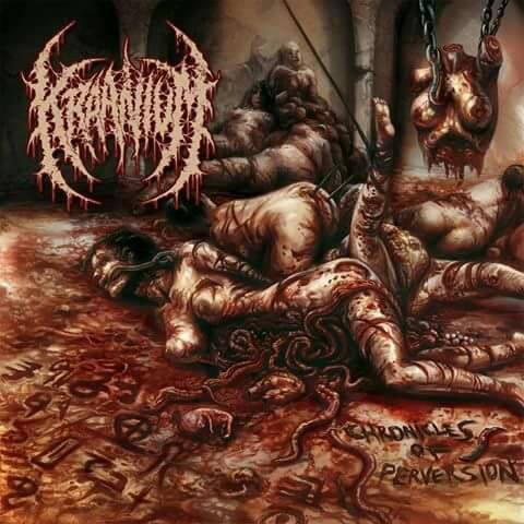 Image of KRAANIUM - Chronicles Of Perversion CD