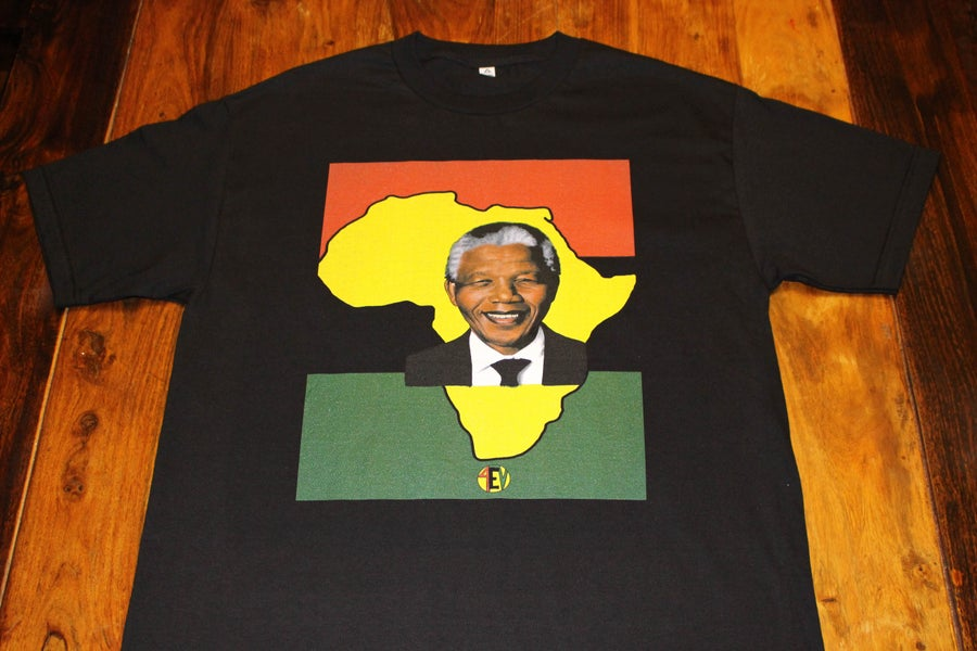 "Image of MANDELA ""4EV"" (BLACK)"