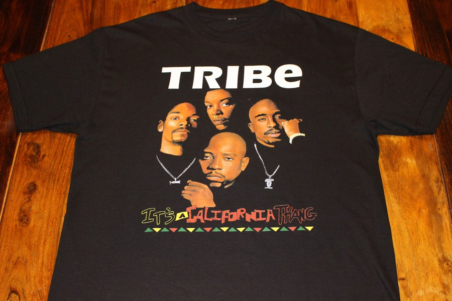 "Image of DEATH ROW's FINEST ""TRIBE"" (BLACK)"