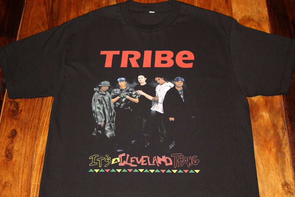 "Image of BONE ""TRIBE"" (BLACK)"