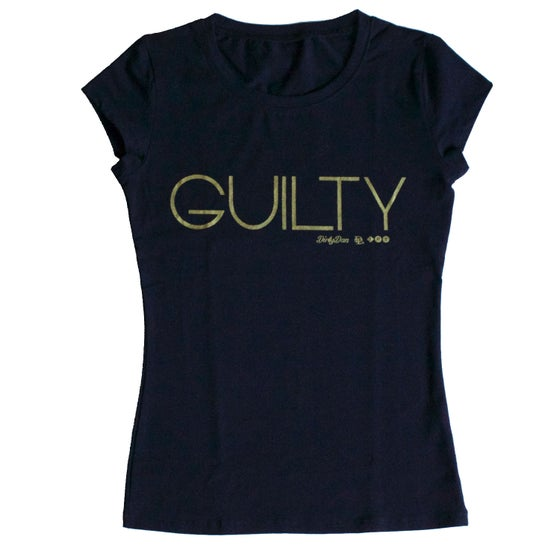 "Image of ""Guilty Of It"" Slim Women's T-Shirt"