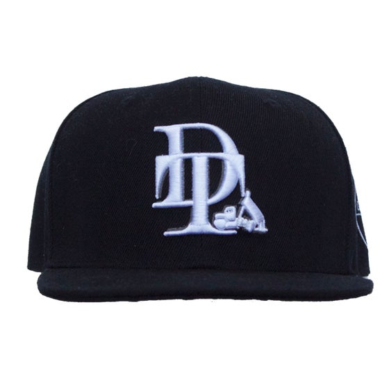Image of Dumptruck Branded Snapback - Black