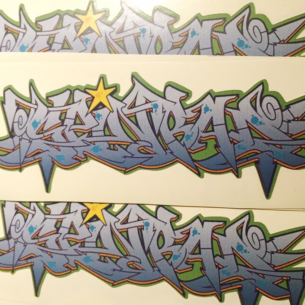 "Image of Spinbad ""Graff"" Sticker"