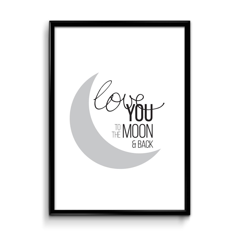 Image of Love you to the moon