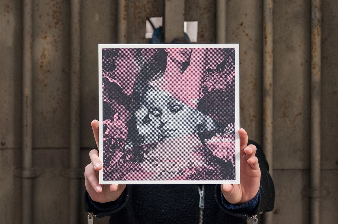 Image of Stolen Kisses / Silkscreen Print