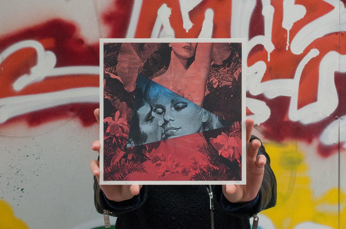Image of Stolen Kisses / Silkscreen Print