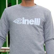 Image of Cinelli Reflective Crew Neck Sweatshirt