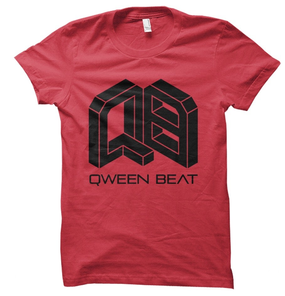 Image of Qween Beat Logo Tee (R)