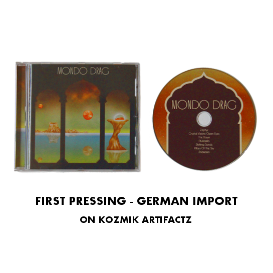 Image of First Pressing - German Import (CD)