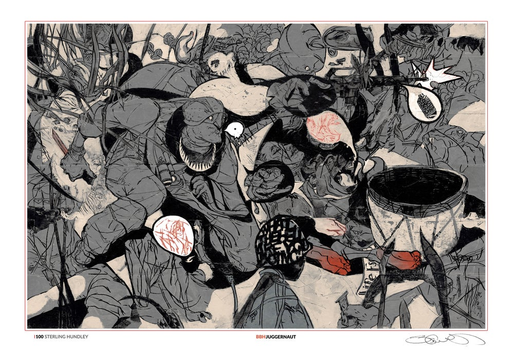 Image of BBH: JUGGERNAUT L(100)E Giclee Print