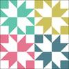 Sparkle Mini Quilt #118, PDF Pattern