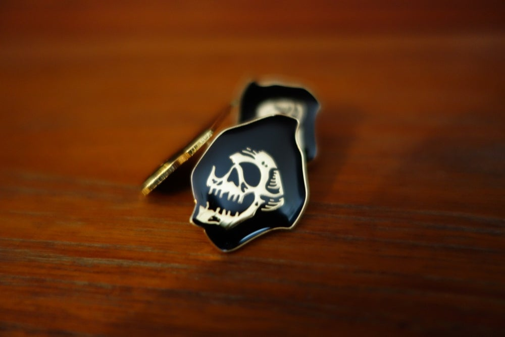 Image of DEATH CLOAK LAPEL PIN