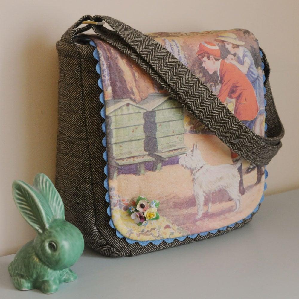Image of Secret Garden One Of a Kind Shoulder Bag-60% Off