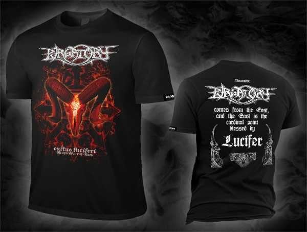 Image of PURGATORY Cultus Luciferi Artwork T-Shirt