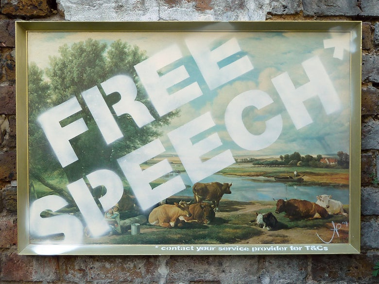 Image of FREE SPEECH*