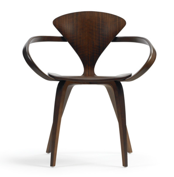 Image of Norman Cherner Armchair Walnut