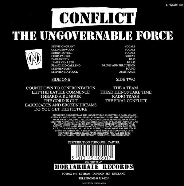 Image of The Final Conflict CD - MORT50