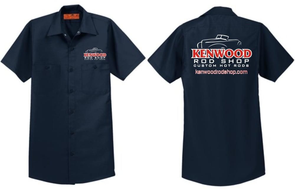 Image of Navy Red Kap Work Shirt