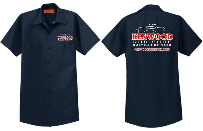 Image of Navy Red Kap Work Shirt