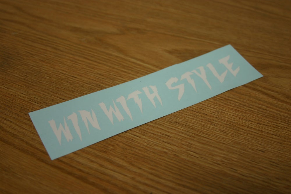 Image of Win with Style ( White )