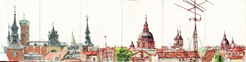 Image of Roofs and Domes of Madrid