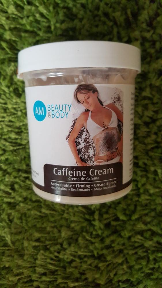 Image of caffine cream