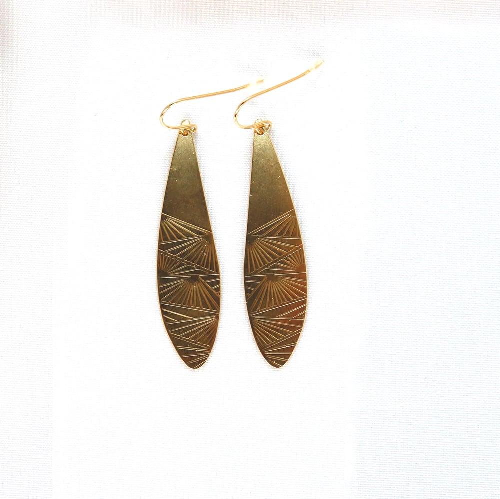 Image of boucles d'oreilles new-york