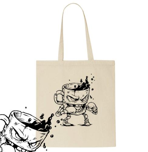 """Caffeinator"" (Organic Tote Bag)"