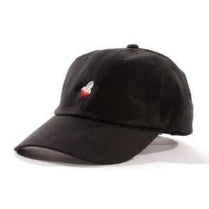 Image of Rocket Strapback Cap (Black)