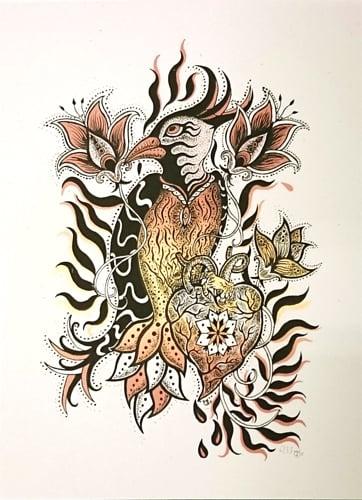 "Art Print: ""COLIBRI"""