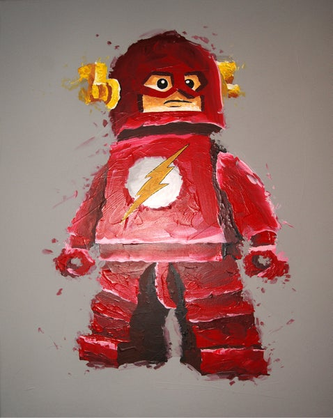 Image of THE FLASH (Limited Edition Print)