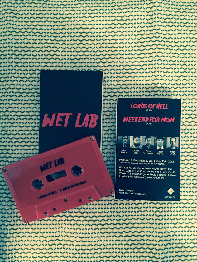"Image of (SJPHX-001) Wet Lab ""Lords of Hell"" Cassingle"