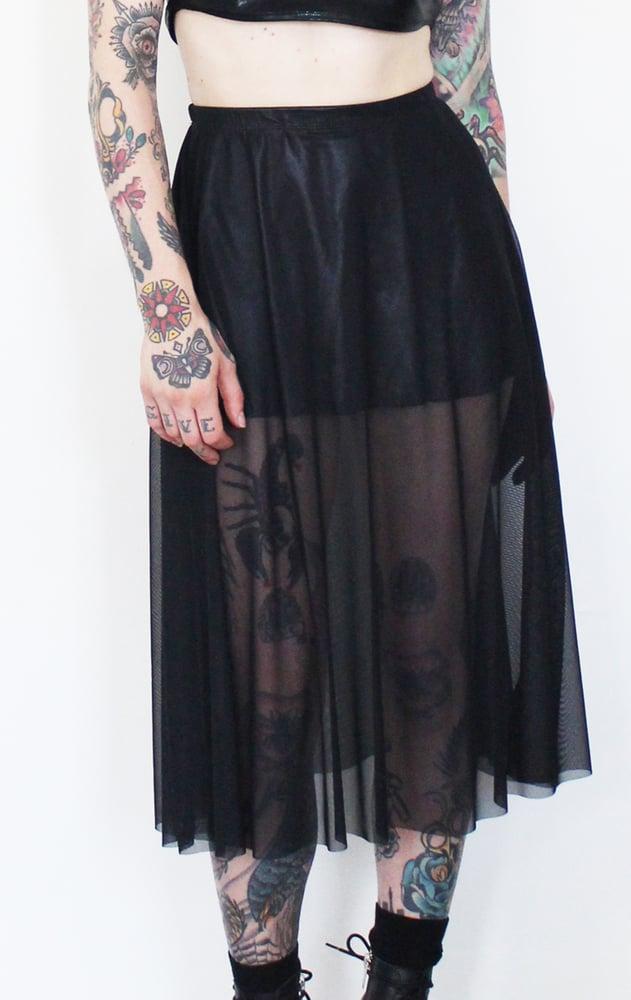 Image of Mesh skirt