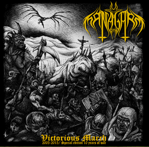 "Image of Dark Managarm - ""Victorious March"""