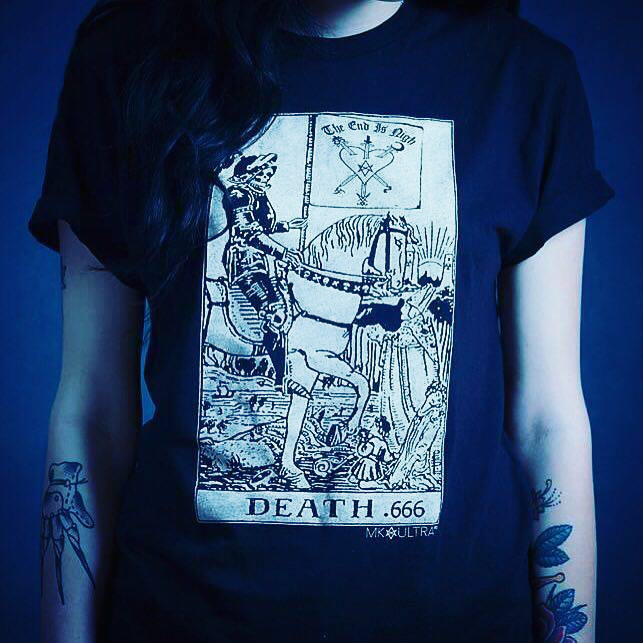 Image of DEATH CARD T-SHIRT
