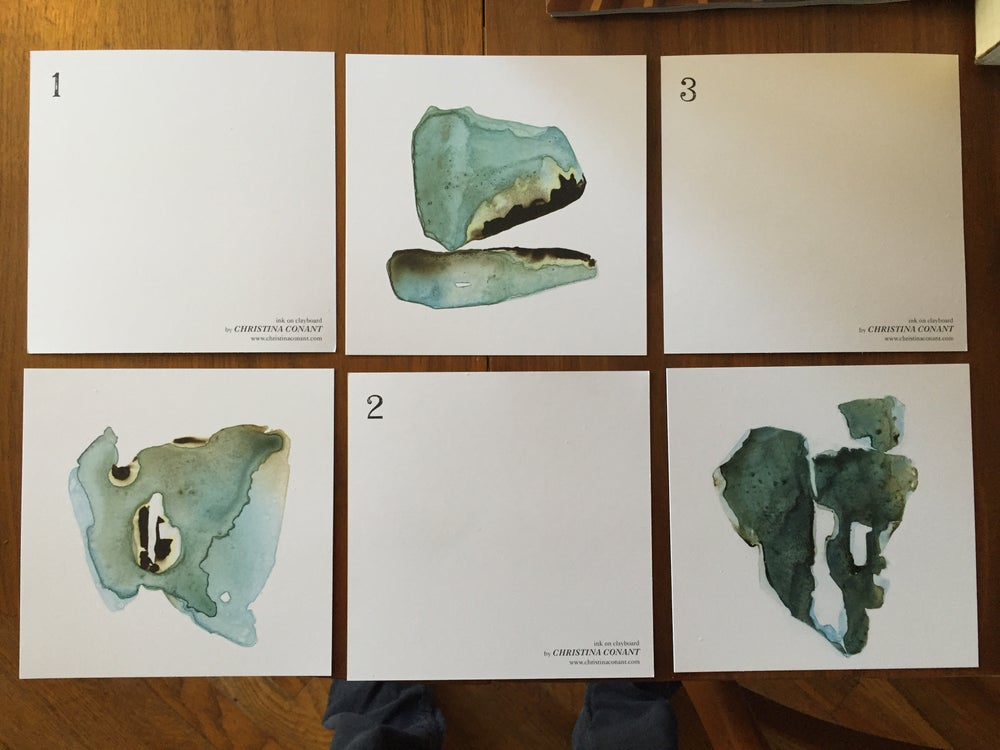 Image of Daniel Charles Hunt | Inside Passage | Art Card set w/ DL