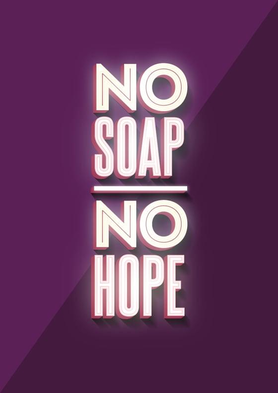 Image of No Soap, No Hope Poster