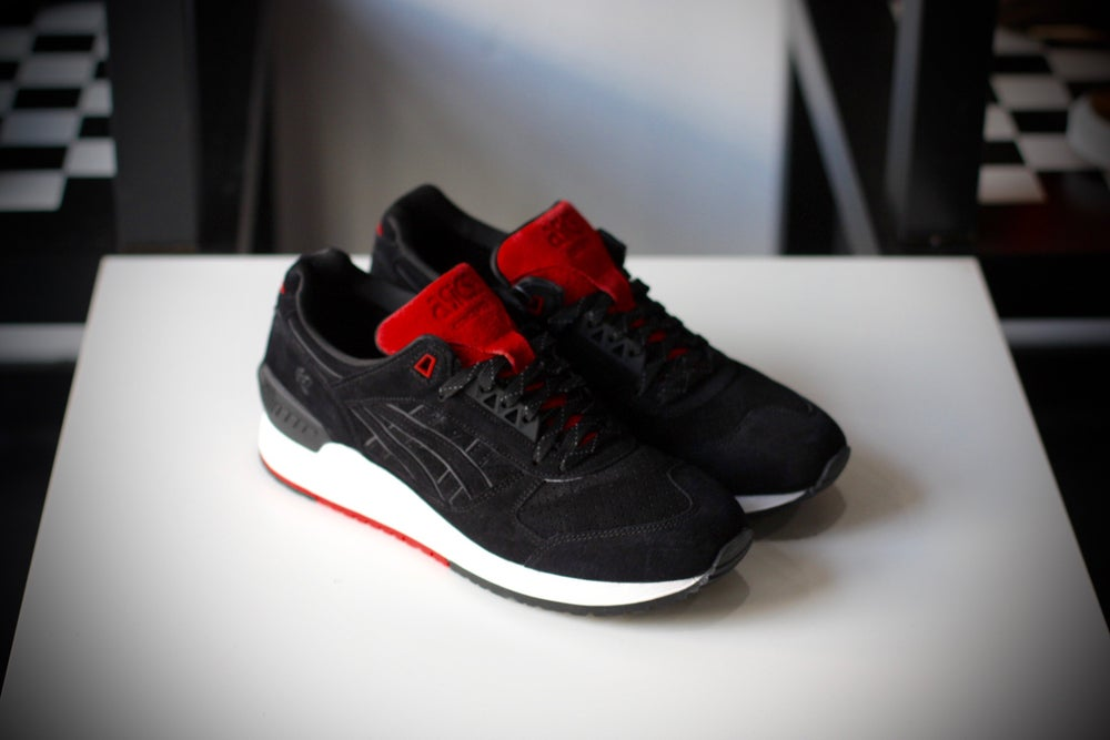 "Image of ASICS GEL Respecter x Concepts ""Black Widow"""