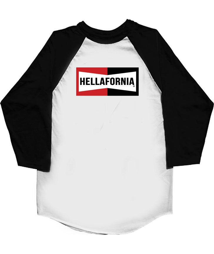 Image of Hellafornia Mechanic Baseball Tee