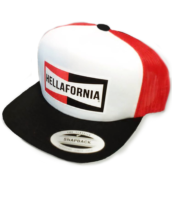 Image of Hellafornia Mechanic Trucker Hat
