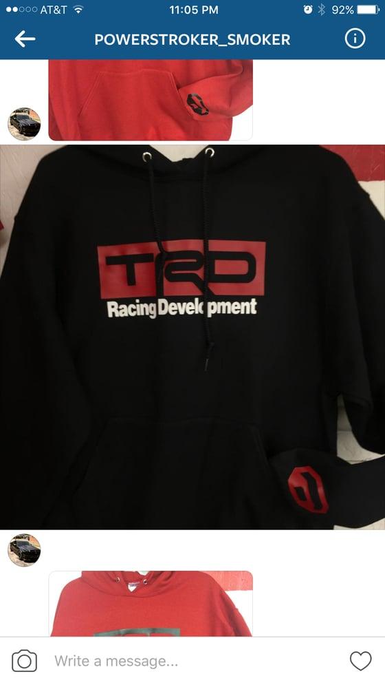 Image of TRD Black Hoodie
