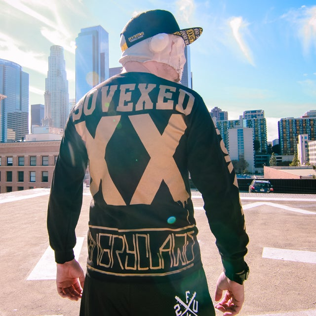 """Image of FuntcaseUK """"So Vexed"""" Long Sleeve Collaboration"""