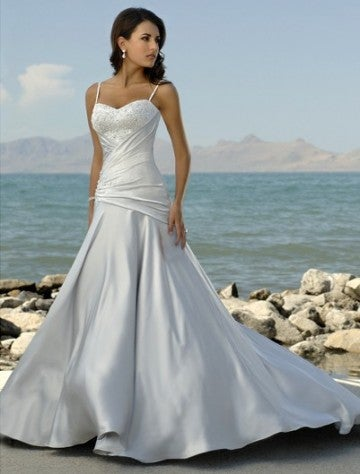Image of Cheap Beach Wedding Dresses 2016 Online Sale