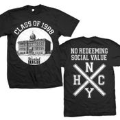 "Image of NO REDEEMING SOCIAL VALUE ""Wasted High"" T-Shirt"