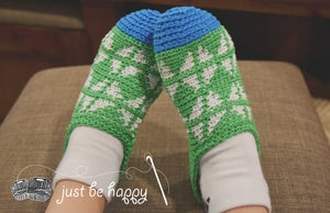 Image of Fair Isle Slippers