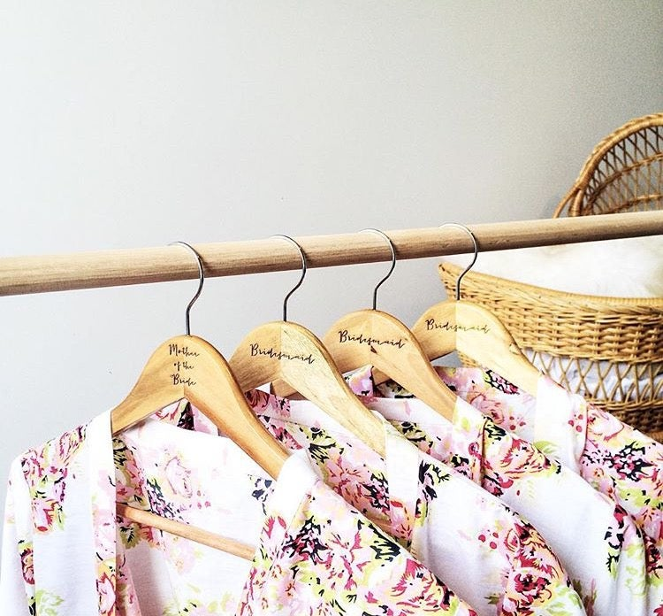 Image of BRIDAL PARTY HANGERS