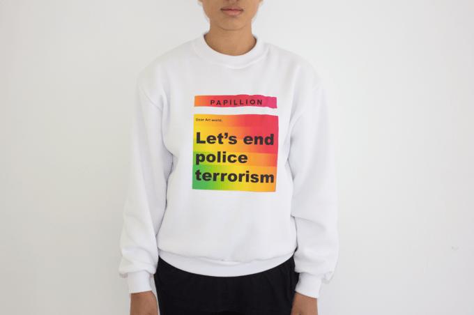 Image of Dear Art World: Let's End Police Terrorism