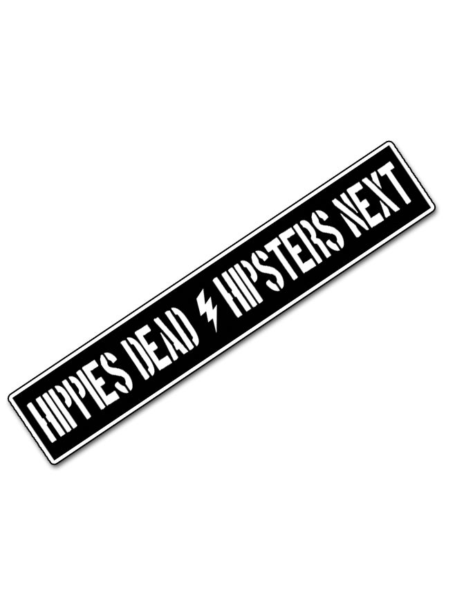 """Image of Patch """"Hippies Dead / Hipsters Next"""""""