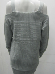 Image of Women's loose long-sleeved sweater coat Sling
