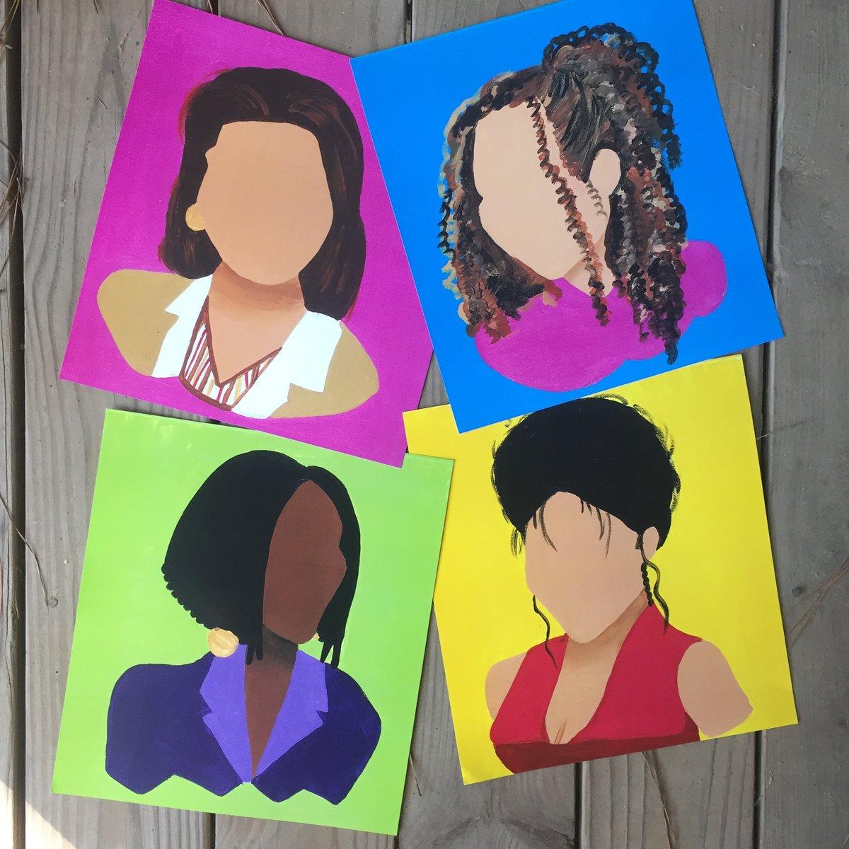 Image of My Girls (Print Set & Originals)